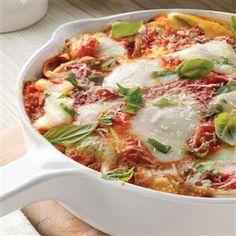 Galbani® Cheese Skillet Lasagna Recipe- Recipes  Recipe provided by Galbani® Italian Cheese