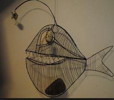 wire art -Lucie Auerswaldová-Babáková