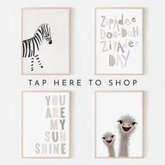 Zebra Nursery, Pastel Nursery, Nursery Neutral, Nursery Wall Decor, Nursery Art, Art Wall Kids, Art For Kids, Gallery Wall Layout, Wall Art Prints