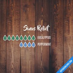 Sinus Relief - Essential Oil Diffuser Blend remedies for anxiety remedies for sleep remedies high blood pressure remedies simple remedies sinus infection Essential Oils For Colds, Essential Oil Diffuser Blends, Essential Oil Uses, Essential Oil Cold Remedy, Essential Oil Combinations, Oils For Sinus, Sinus Relief, Inspiration, Asthma