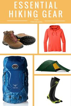 """""""The right gear can make or break your hiking trip. Whether you're hitting the trails for an hour or a day, you'll need some of these essentials."""""""