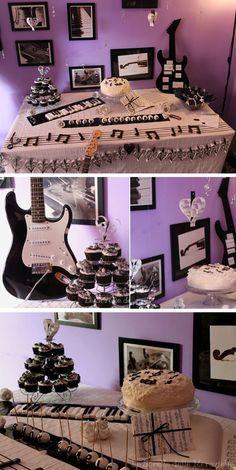 Music Theme Dessert Table