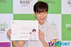 2016 June 29 (Wed) | #ActorLeeMinHo | #LeeMinHo | #Korean #Actor #HallyuStar | #ASIA Most Popular #IDOL| Fan Sign |#Autograph | #Minoz | #GoodBase |#Korea #Ginseng | KGC | #Chokeberry | #Blueberry | #Pomegranate | #Pear | P01 of P08 |(Source: TV Report  | Facebook |   [https://www.facebook.com/tvrnews/photos/ms.c.eJxFzNkNwEAIA9GOIjCYo~;~;GopA9fp88VpinRUqQlW2PbuhqKOKCAfSQDZWT5FlU~;cALkzgWpPA7ldYDPQn9BU4LG4g~-.bps.a.1234736659892131.1073742314.392457514120054/1234737059892091/?type=3&theater]