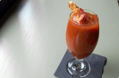 Bacon-Infused Bourbon Bloody Mary