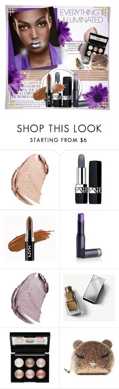 """""""High Shine: Metallic Lipstick"""" by perplexidadesilencio ❤ liked on Polyvore featuring beauty, Kate Spade, Christian Dior, NYX, Lipstick Queen, Burberry, Witchery, Furla, Beauty and LIPSTICK"""