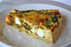 Ruokailmiö: Feta-kasvispiirakka Vegetarian Recipes, Cooking Recipes, Healthy Recipes, Feta, Salty Foods, Always Hungry, Tasty, Yummy Food, Food Pictures