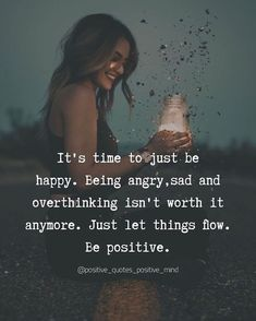Positive quotes positive mind on Tag everyone who need to see this. __ us for more inspirational quotes. Great Quotes, Quotes To Live By, Me Quotes, Motivational Quotes, Mind And Heart Quotes, Being Happy Quotes, Flow Quotes, Peace Of Mind Quotes, True Happiness Quotes