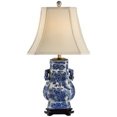 Frederick Cooper FTP022S1 Blue Tang Table Lamp