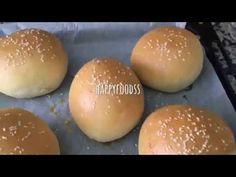 Hamburger Ekmeği Tarifi - YouTube