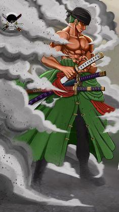 One Piece Roronoa Zoro One Piece ルフィ, One Piece Drawing, Zoro One Piece, One Piece World, One Piece Images, One Piece Fanart, Zoro Roronoa, One Piece English Sub, One Piece Tattoos