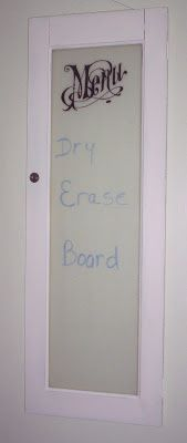 how to use dry erase spray paint