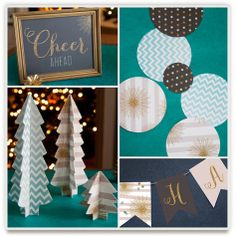 Indie-designed #holiday party decor. Festive, all-in-one packages including bunting and more. More themes launching daily.