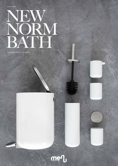 Bathroom accessories by Norm Architects