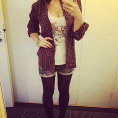 fashion, girl, outfit, punk, rock