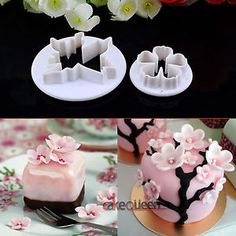 Sakura Flower Cake Fondant Cookie Biscuit Decorating Mold Gum Paste  cakepins.com