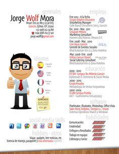 Jorge nos envía su CV. ¿Qué te parece?