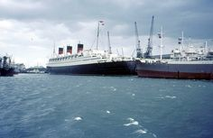 RMS Queen Mary, Southampton Docks 1966 | Flickr - Photo Sharing!