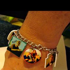 Photo bracelet I created using Shrink Art