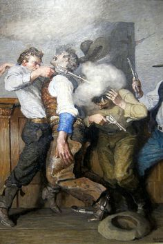N.C. Wyeth: Gunfight