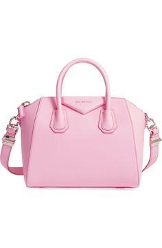GIVENCHY 'Small Antigona' Leather Satchel. #givenchy #bags #shoulder bags #hand bags #leather #satchel #