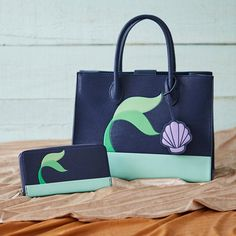 This bag was mer-made for you | Disney The Little Mermaid Fin Crossbody Bag and Wallet - BoxLunch Exclusives