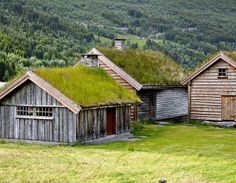 Old houses in Norway by Ystenes - On Iceland, with limited Internet acess., via Flickr