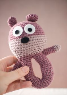 1000+ images about Amigurumi baby rattles on Pinterest ...