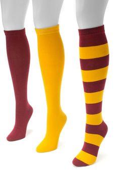 395f9b2fed6 Muk Luks Adult Game Day 3-pk. Knee-High Socks