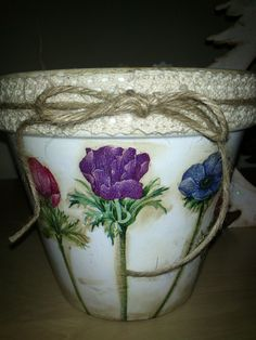 20 Best Decoupage With Napkins Images On Pinterest