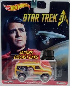 1:64 HOT WHEELS POP CULTURE C CASE - STAR TREK - BAJA BREAKER #HotWheels #BajaBreaker