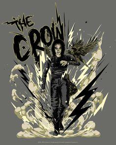Crow Movie, Brandon Lee, Real Love, Supernatural, Crime, Avengers, Movie Posters, Inspiration, Art