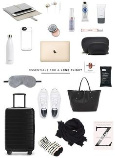 travel essentials for a long flight | Danielle Moss Travel Packing, Must Haves