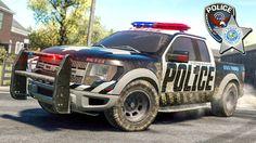Мультики про полицейские машинки Погоня за преступником Полиция догоняет