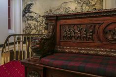 Discover our sensational Dalhousie Castle in Scotland and live like a king! Book your stay and step inside this luxurious hotel with a fascinating past. Robert Parker, Hotel Royal, Edinburgh Scotland, Tartan, Castle, Carving, Group, History, Luxury