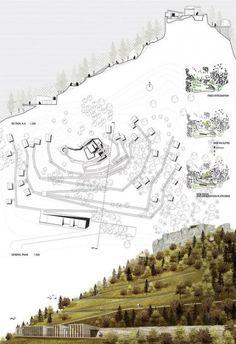 16 Ideas Landscape Architecture Board Presentation Site Plans For 2019 Landscape Architecture Portfolio, Plans Architecture, Architecture Graphics, Landscape Design, Landscape Plans, Architecture Diagrams, Portfolio D'architecture, Portfolio Examples, Architecture Presentation Board