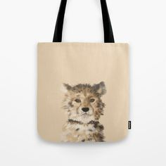 painted leopard tote bag black available at my society 6 store. #painting #drawing #animal #animalprint #portrait #portraitdrawing #tote #bag #bags #bagshoppe