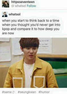 I actually didn't like it that much at first and then now I legit can be described by my like for kpop sooo