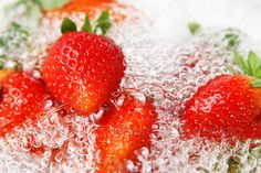 Realistic Graphic DOWNLOAD (.ai, .psd) :: http://vector-graphic.de/pinterest-itmid-1006559748i.html ... fresh strawberries ...  berry, beverage, cold, color, cool, dessert, drink, food, fresh, frozen, fruit, glass, healthy, ingredient, juice, juicy, leaf, liquid, raw, red, refreshment, ripe, single, snack, strawberry, sweet  ... Realistic Photo Graphic Print Obejct Business Web Elements Illustration Design Templates ... DOWNLOAD :: http://vector-graphic.de/pinterest-itmid-1006559748i.html
