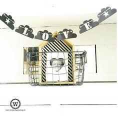 Mooie blog over sfeerhoekjes met #slingers in huis.