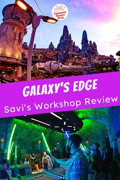 Ever wanted to build your own, custom lightsaber? In Galaxy's Edge you can! Find out what we thought of the experience and if it's worth the price tag. #HollywoodStudios #DisneyTips #GalaxysEdge #WaltDisneyWorld #StarWars
