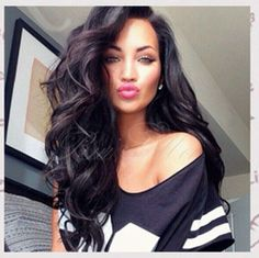 5A Freeshipping front lace wig/glueless full lace wig brazilian virgin human hair body wavy wigs with baby hair for black women-in Wigs from...