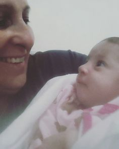 ♡...Eu e minha netinha Georgia♡