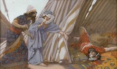 Jael Shows to Barak, Sisera Lying Dead - James Tissot, c.1902, 248/451.