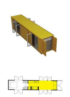 Tour your Montainer Container Home - www.montainer.org