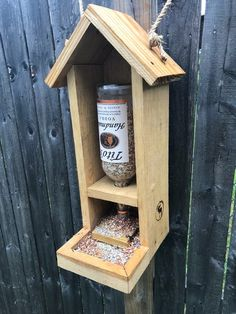 Rustic Bird Feeder Reclaimed Wood Tito's Birdfeeder | Etsy