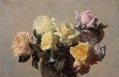 Ignace-Henri-Jean-Théodore Fantin-Latour >> rosas 17