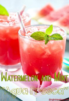Watermelon and Mint