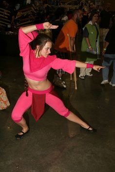 Ty Lee #cosplay - AVATAR: The Last Airbender - Dragon*Con 2012