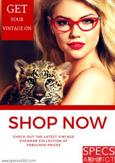 Vintage eyewear is back in action this season!!  Check out the latest Vintage collection only at www.specsaddict.com  Unbeatable prices with FREE shipping and lenses! You can't find anything better than this! ‪#‎glasses‬ ‪#‎sunglasses‬ ‪#‎eyewear‬ ‪#‎vintage‬ ‪#‎bold‬ ‪#‎retro‬ ‪#‎classic‬ ‪#‎elegant‬ ‪#‎fashion‬ ‪#‎style‬ ‪#‎chic‬ ‪#‎specsaddict‬ ‪#‎men‬ ‪#‎women‬ ‪#‎kids‬ ‪#‎UAE‬ ‪#‎dubai‬ ‪#‎qatar‬ ‪#‎bahrain‬ ‪#‎saudiarabia‬ ‪#‎love‬ ‪#‎kateupton‬ ‪#‎celebrities‬ ‪#‎red‬