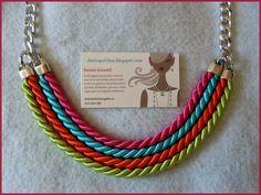 collares de cordones - Buscar con Google